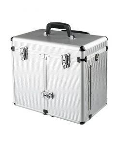 Sibel Maxi aluminium koffer mit trolley silber