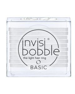 Invisibobble Basic Crystal Clear 10st.
