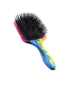 Denman D90L Tangle Tamer Ultra Paddle Brush Rainbow