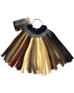 Great Hair Extensions - kleurenring
