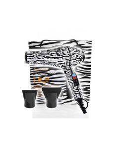 ISO Beauty Föhn 2000W Zebra weiß