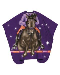 Trend-Design Kinder Schneideumhang Jockey hooks 130x125cm