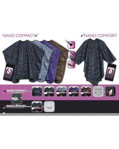 Trend-Design Schneideumhang Nano Comfort schwarz 205x205cm