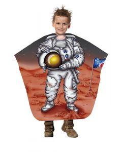 Trend-Design Kinder Friseurmantel Astronaut 130x125cm